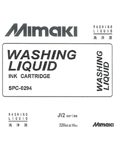 Mimaki Mild Solvent Washing Liquid Cartridge
