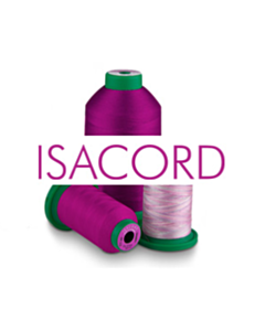 ISACORD - 100% Polyester Embroidery Threads